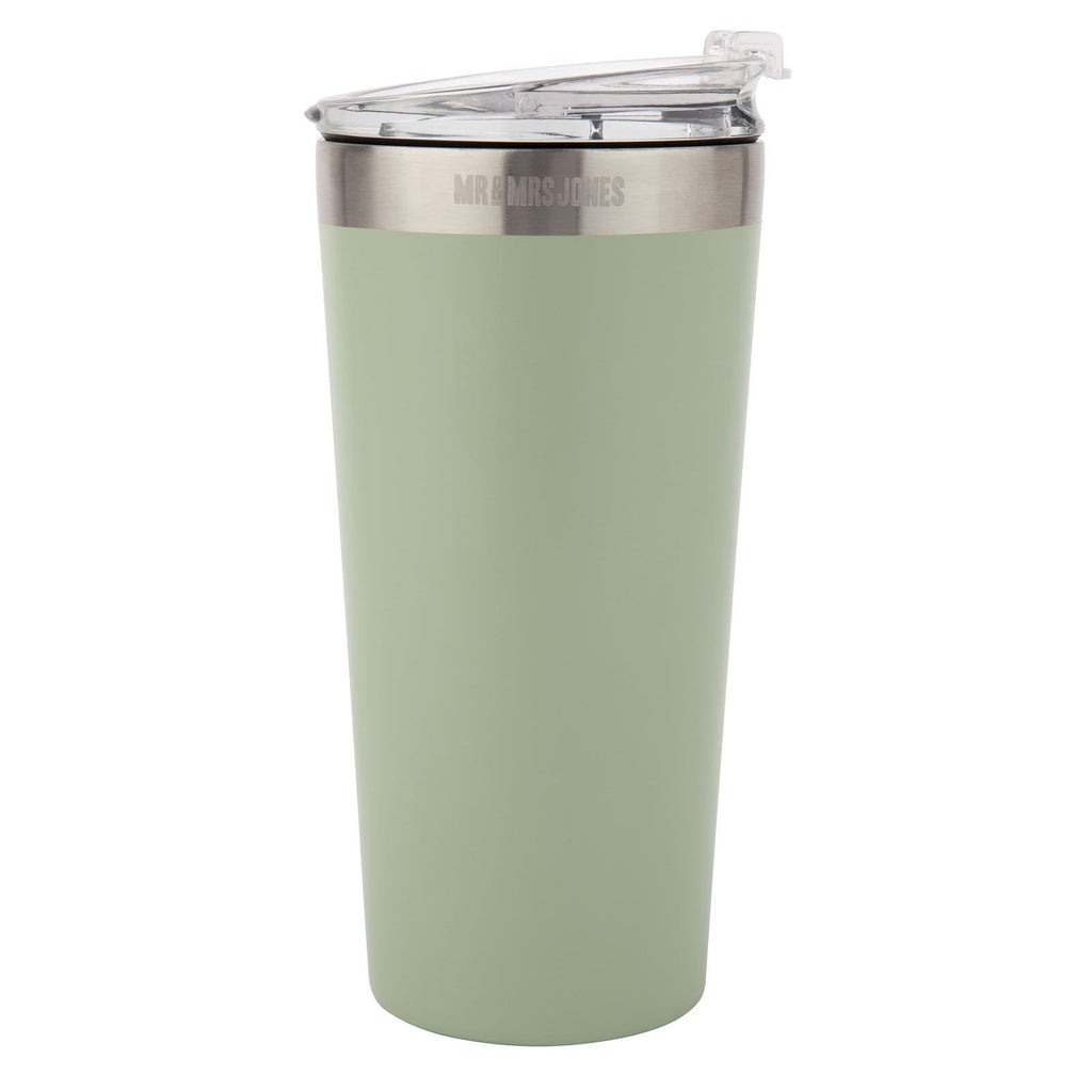 Coffee Cup Steel 16 oz Army
