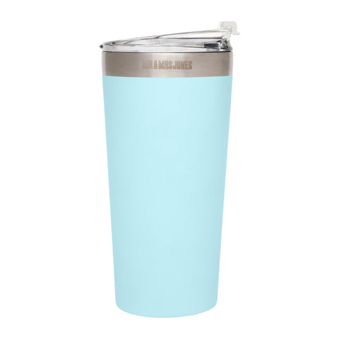 Coffee Cup Steel 16 oz Sky