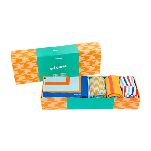 All class retro sock and handkerchief set
