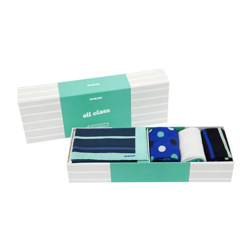 All Class Classic Sock and Handkerchief Set