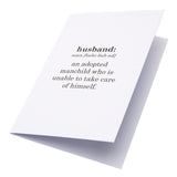 Card Definition Husband