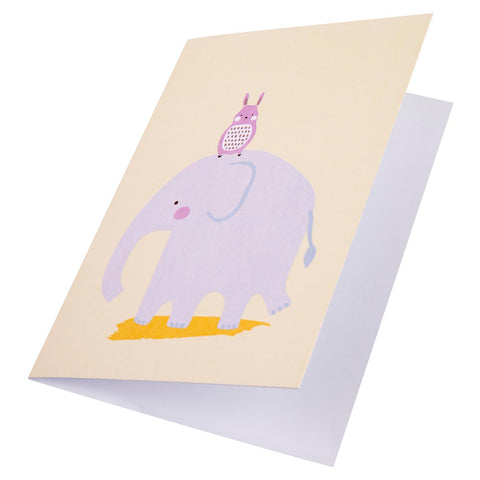 Card Little Ones Elephant