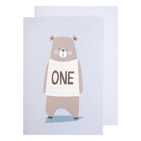 Card Little Ones One