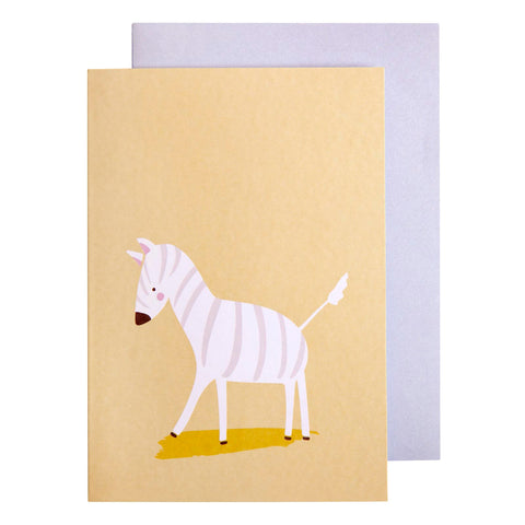 Card Little Ones Zebra