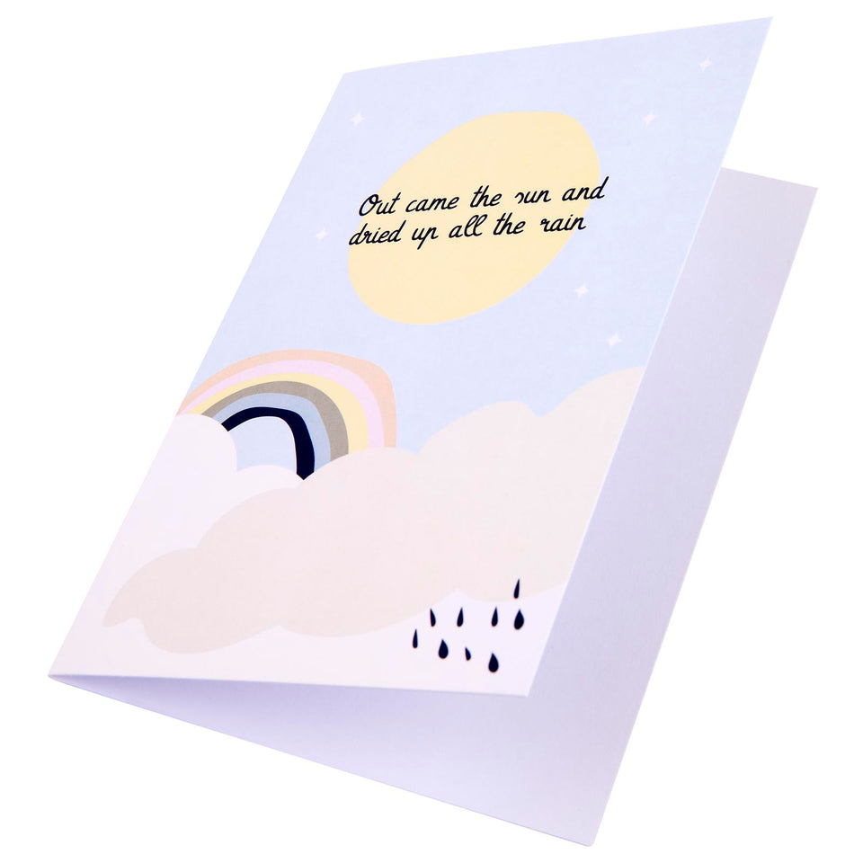 Incy Wincy Nursery Rhyme Card