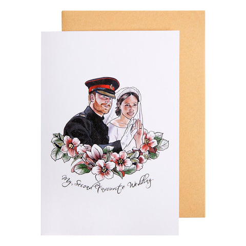 Card Pop Culture Royal Wedding