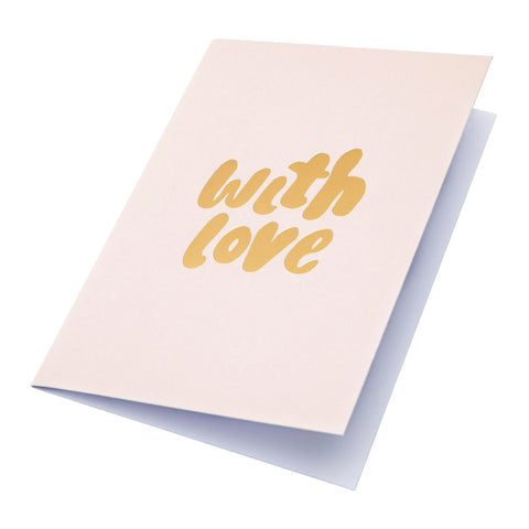 Card Typeography With Love
