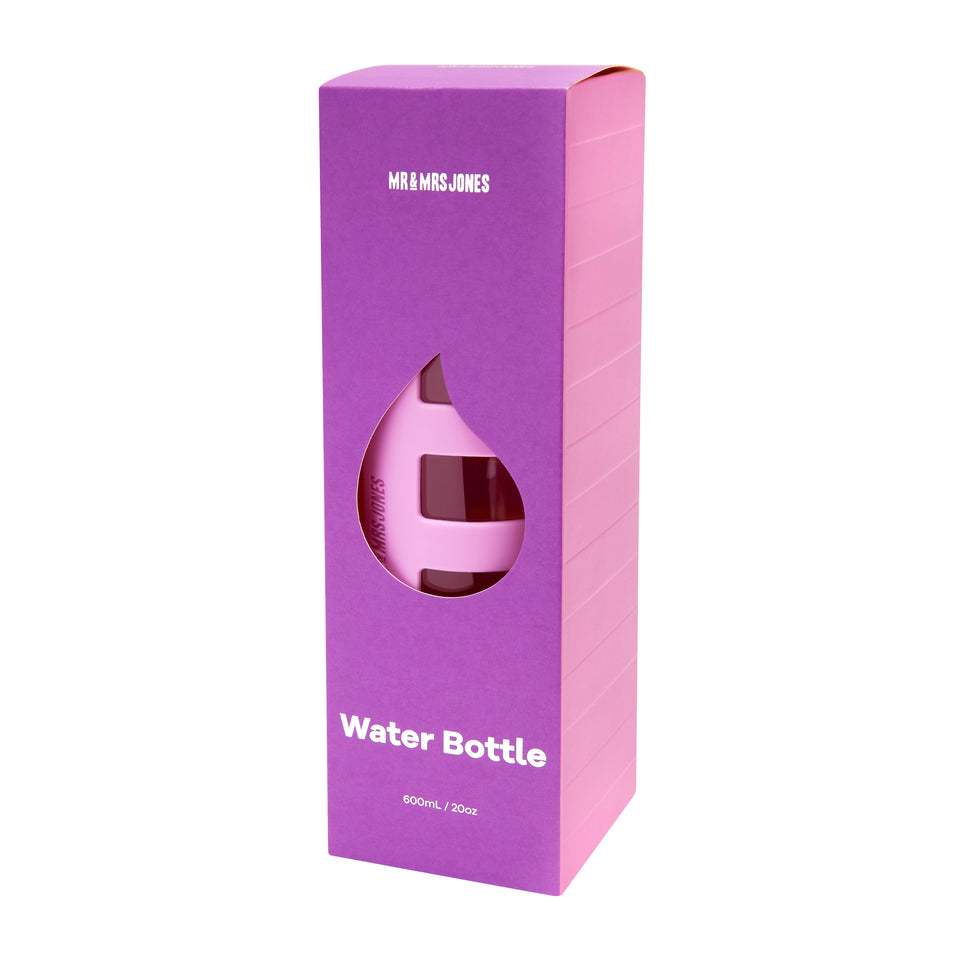 Water Bottle Active Stripe (assorted colours)