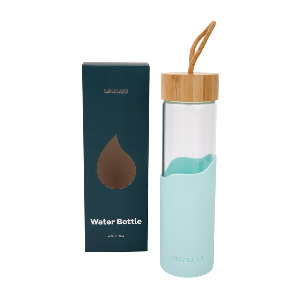 Bamboo Water Bottle (assorted colours)