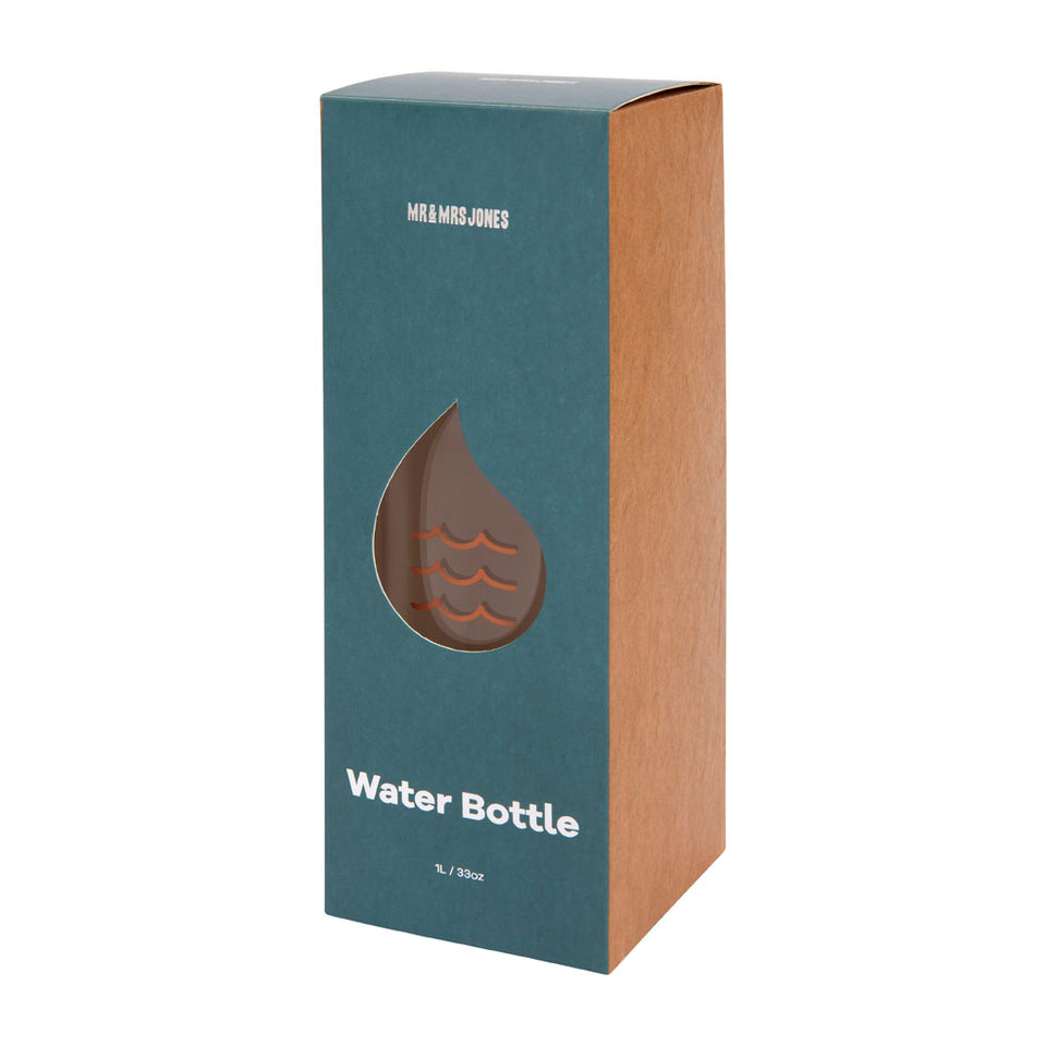 Desk Water Bottle (assorted colours)