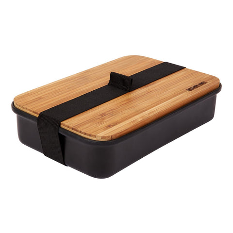 Lunch Box Aluminium Black