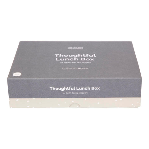 Lunch Box Aluminium Silver