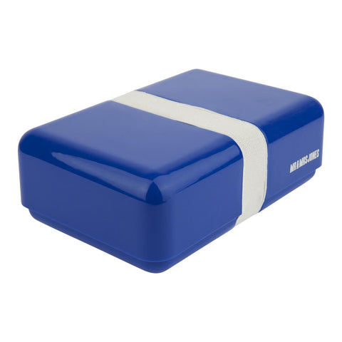 Lunch Box Plastic Single Indigo