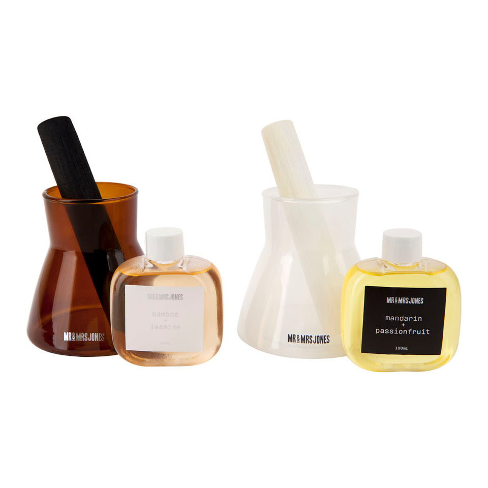 Wooden Reed Diffuser Set