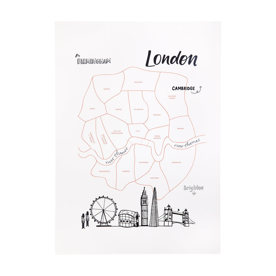 Wanderlust Art Print | London
