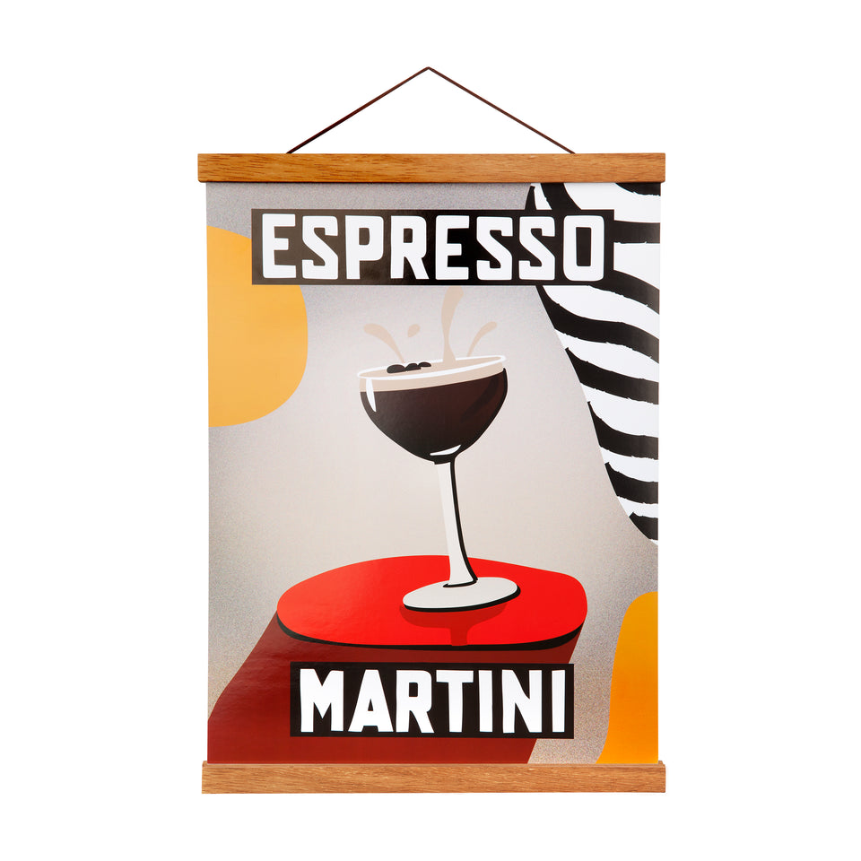 Vintage Bar Art Print | Espresso Martini