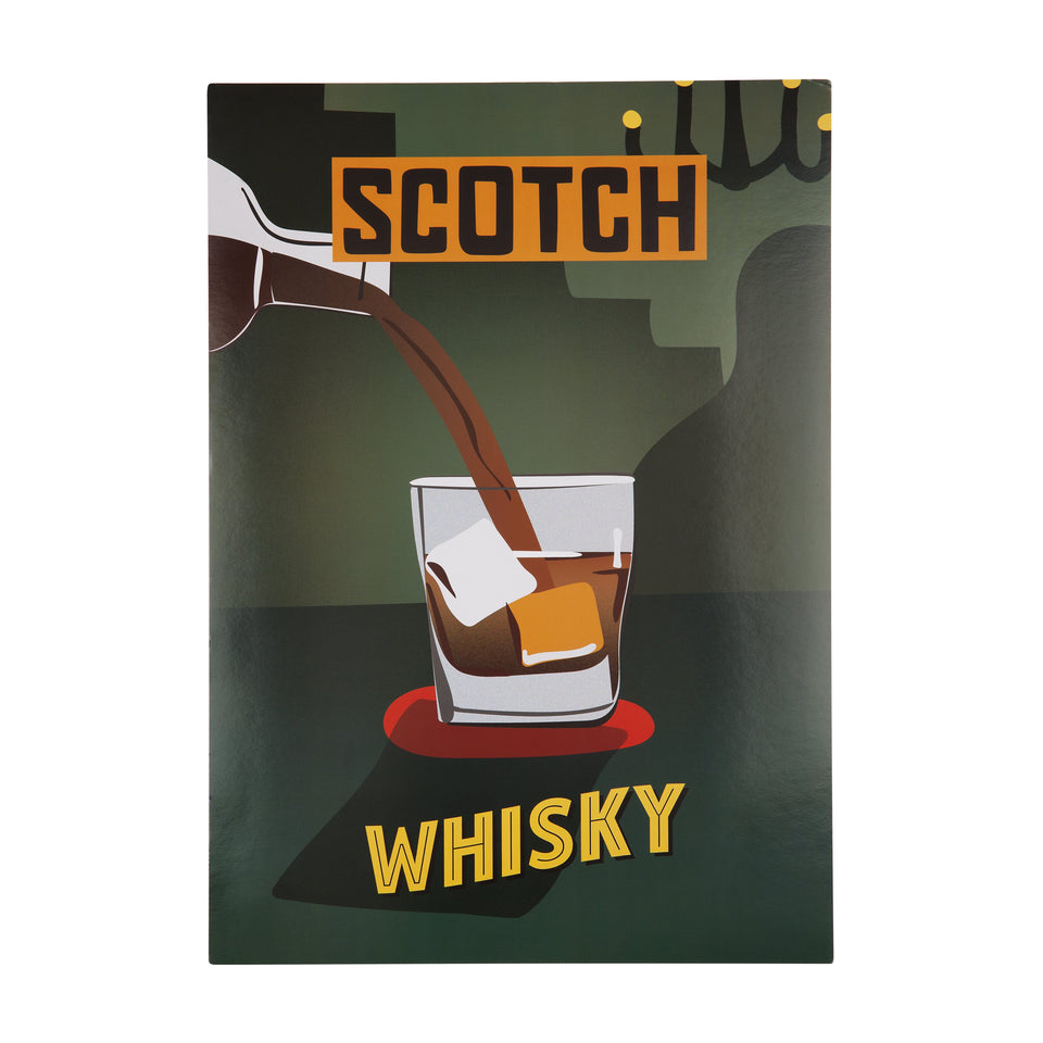 Vintage Bar Art Print | Whisky