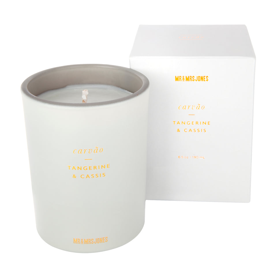 Single Wick Candle Carvao