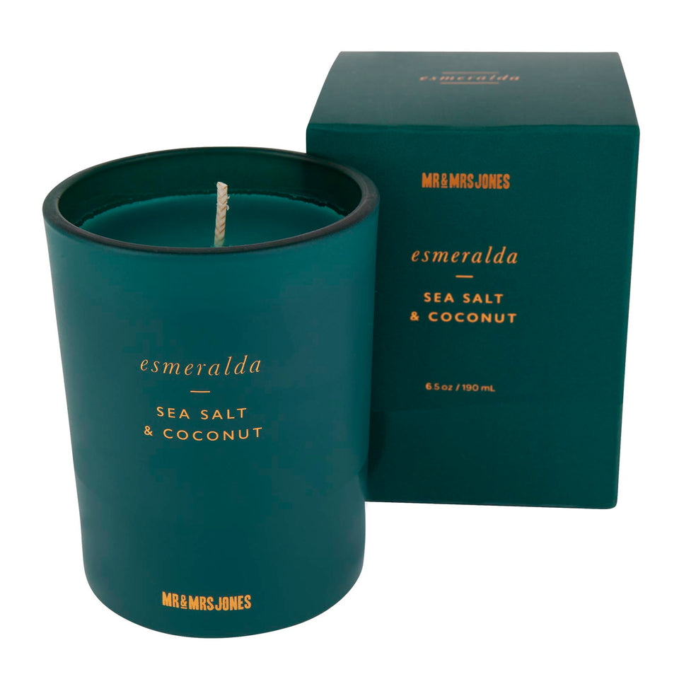 Single Wick Candle Esmeralda