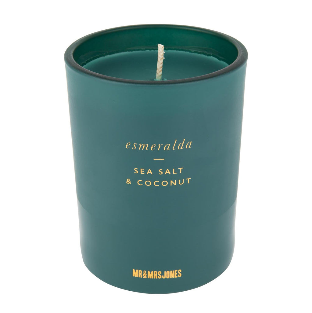 Scented Candle Single Wick Esmeralda