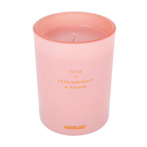 Single Wick Candle | Rosa