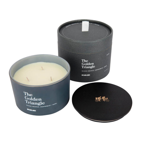 3 Wick Candle | The Golden Triangle