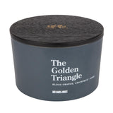 3 Wick Candle The Golden Triangle