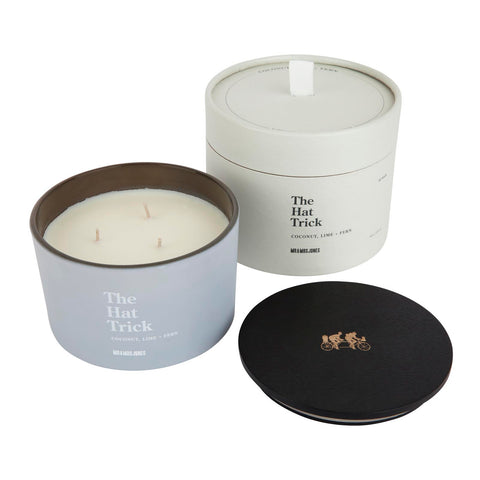 3 Wick Candle | The Hat Trick