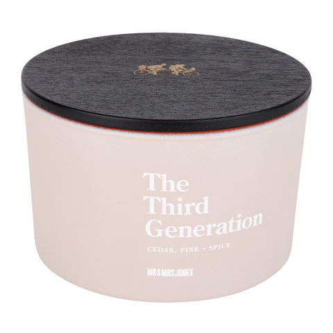 Scented Candle 3 Wick The Third Generation