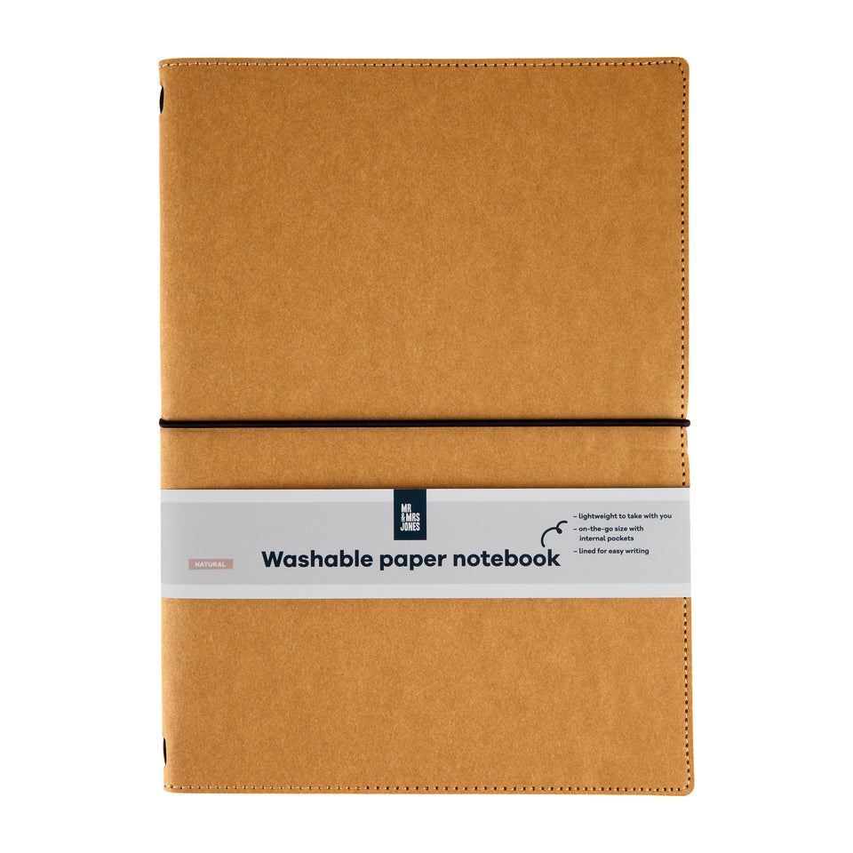 Notebook Washable Paper Brown