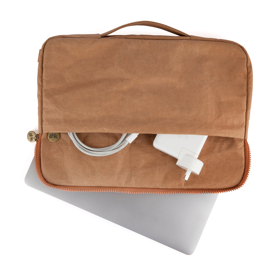 Laptop Carrier Natural | Washable Paper
