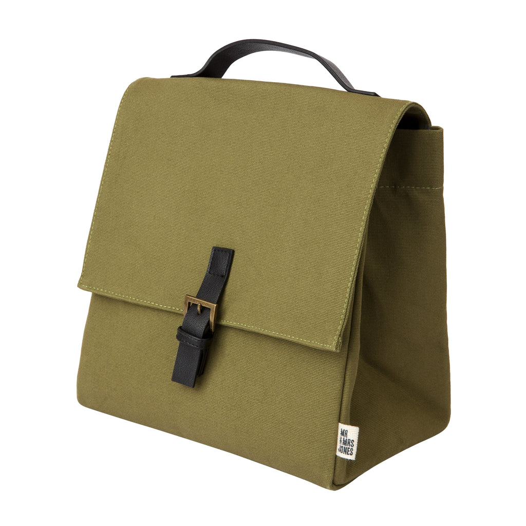 Buckle Up Lunch Bag | Army