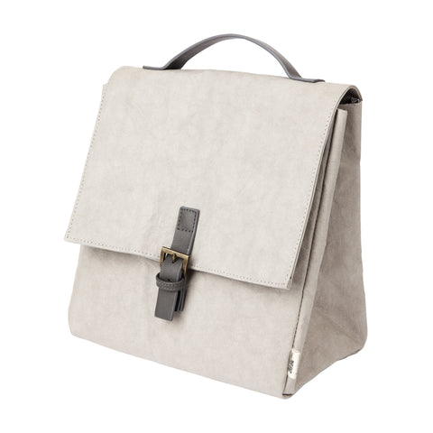 Premium Eco Washable Paper Lunch Bag | Concrete