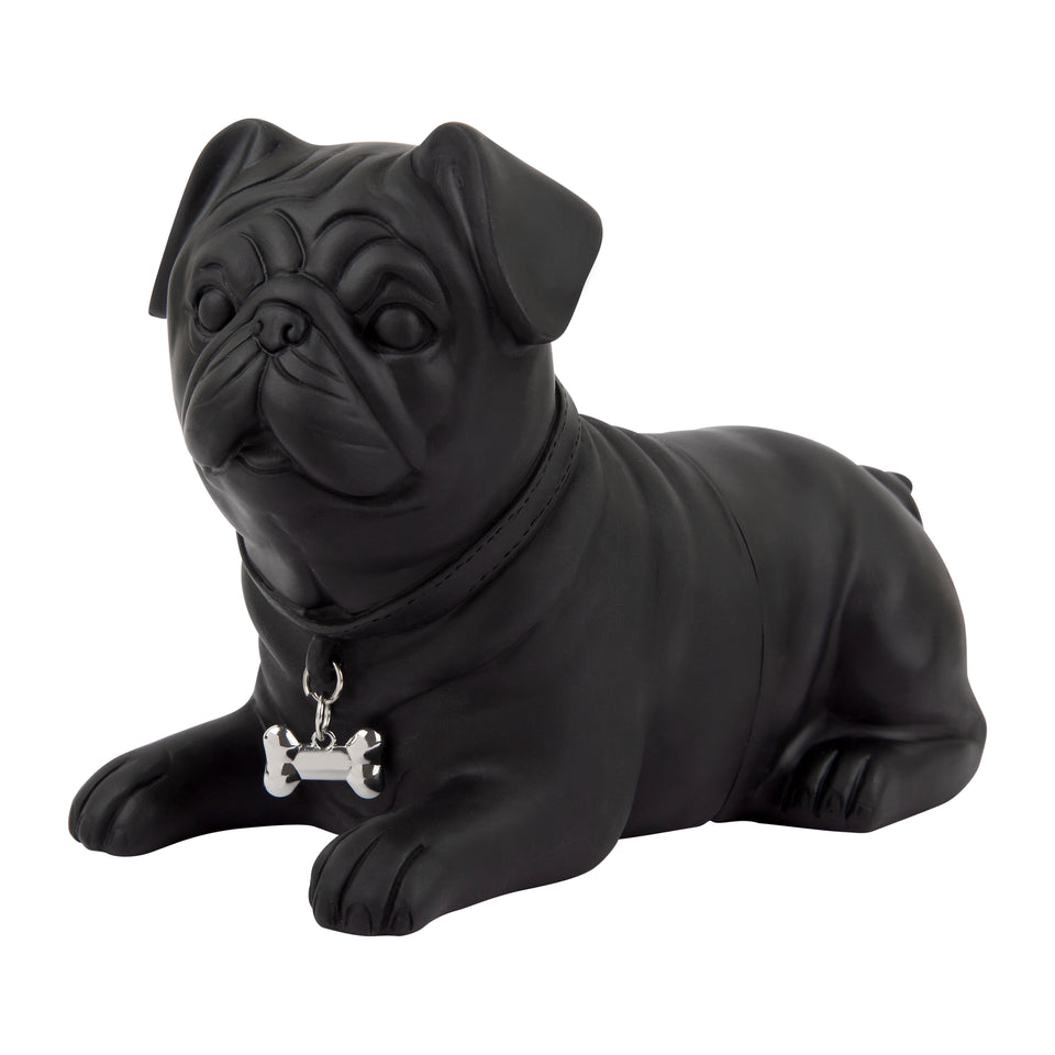 Black Pug Bookends
