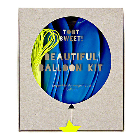 Balloon Kit Blue 8Set
