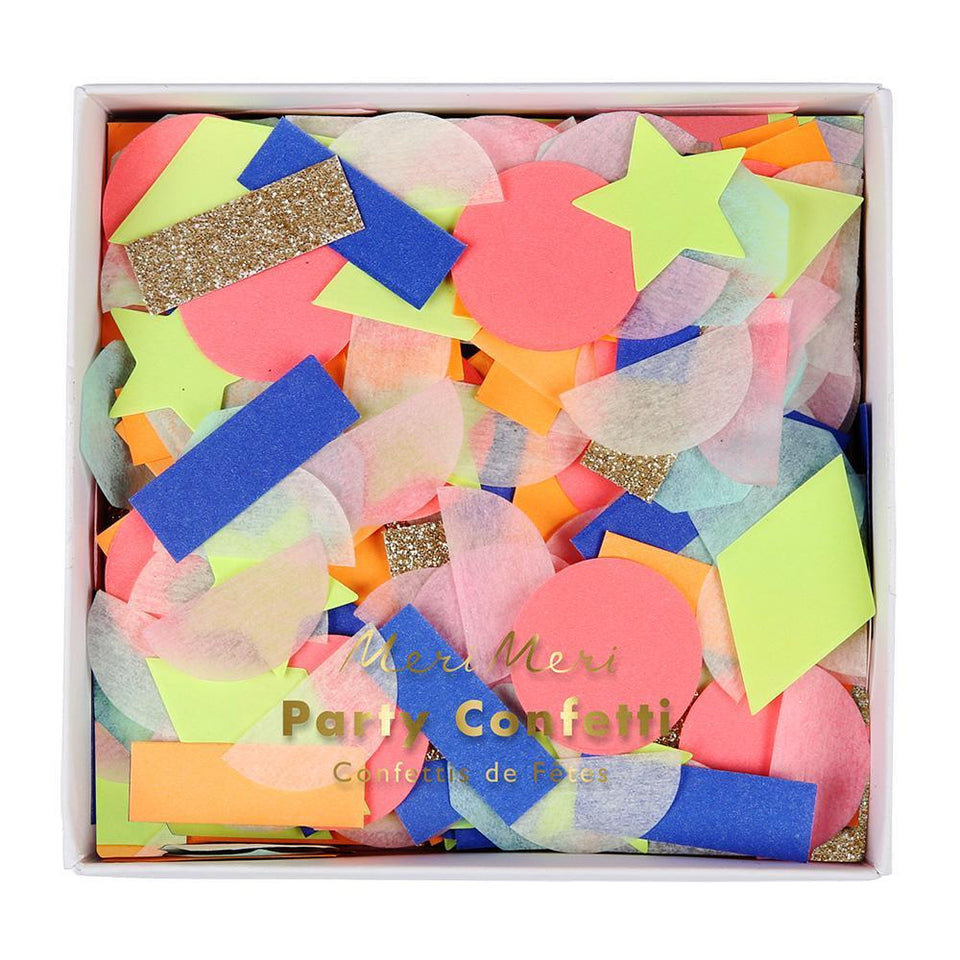Party Confetti Rainbow Shapes | Meri Meri