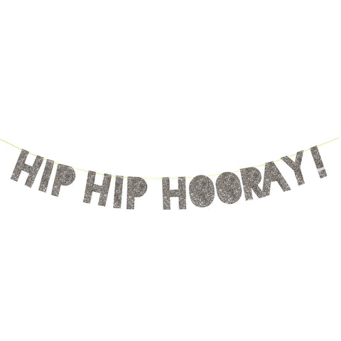 Garland Hip Hip Hooray Silver