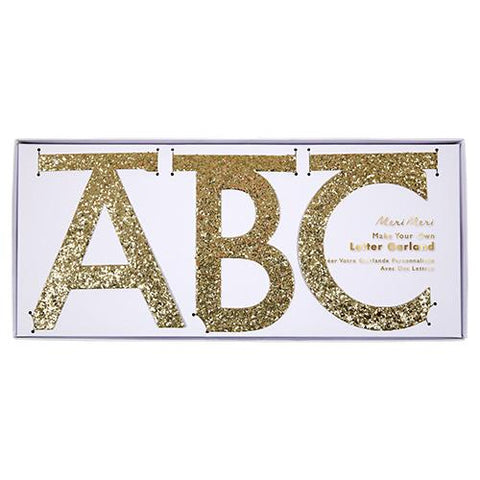 Garland Kit - Gold Glitter Le