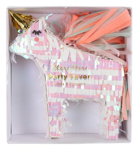 Mini Pinata Favours Unicorn