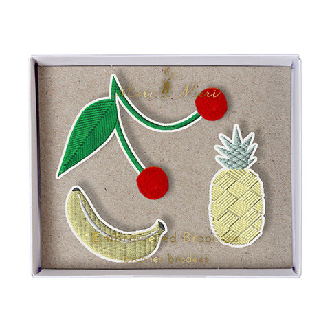 Brooches - Fruit