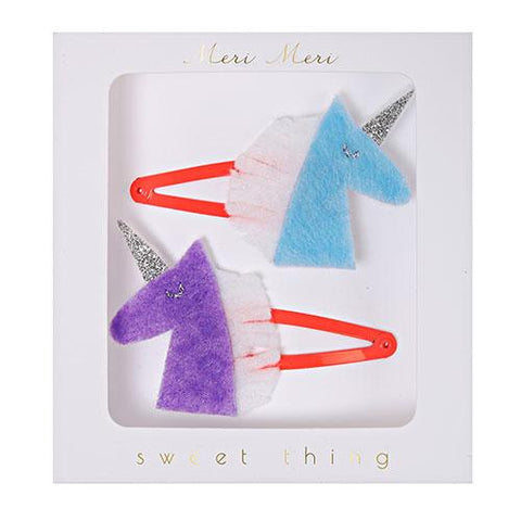 Hairclips - Unicorn