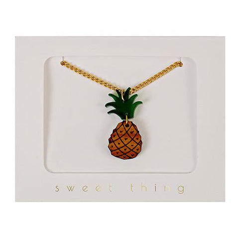 Necklace - Pineapple