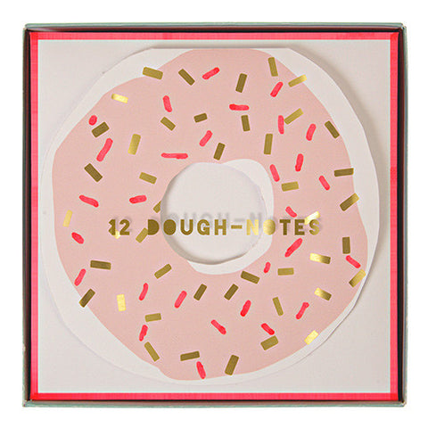 Notecards Doughnut 12Set