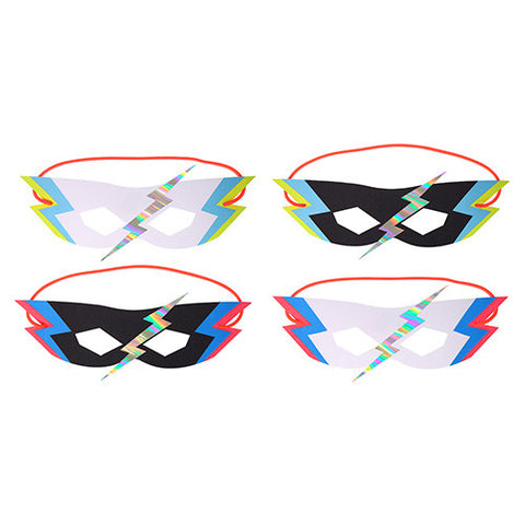 Zap Party Masks 8 Set