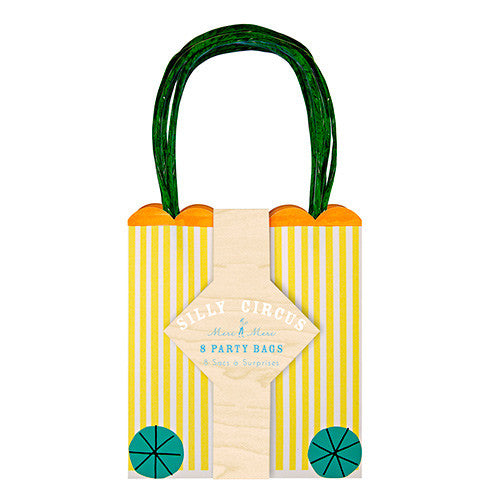 Silly Circus Party Bags 8 Set | Meri Meri
