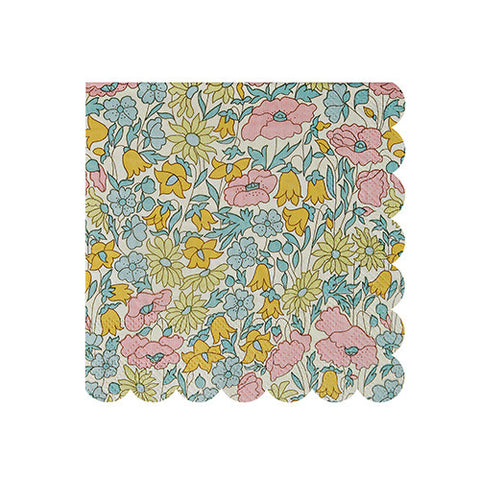 Liberty Napkins Small - Poppy & Daisy 20 pack