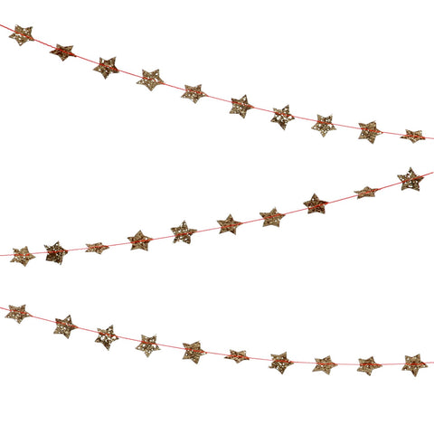 Garland Mini Star Gold