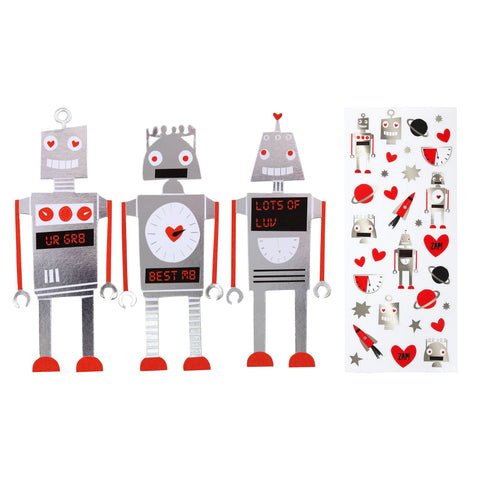 Notecards Robot (24 Set)