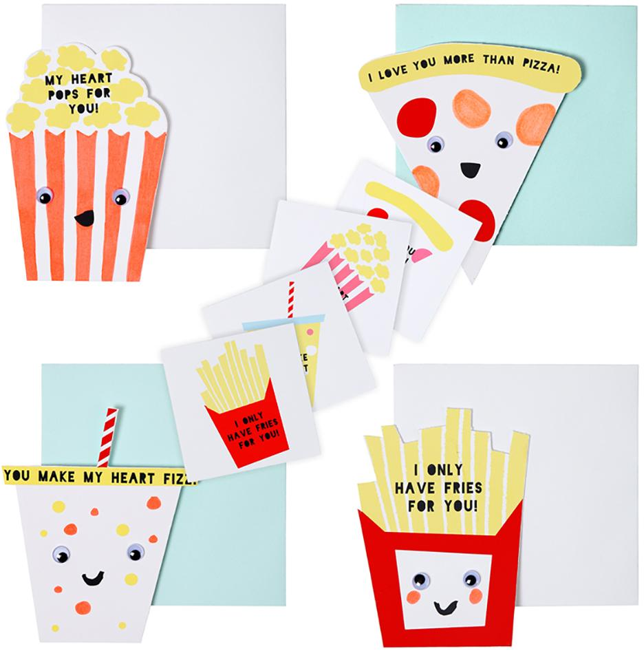 Card Set Fun Foods (24Set)