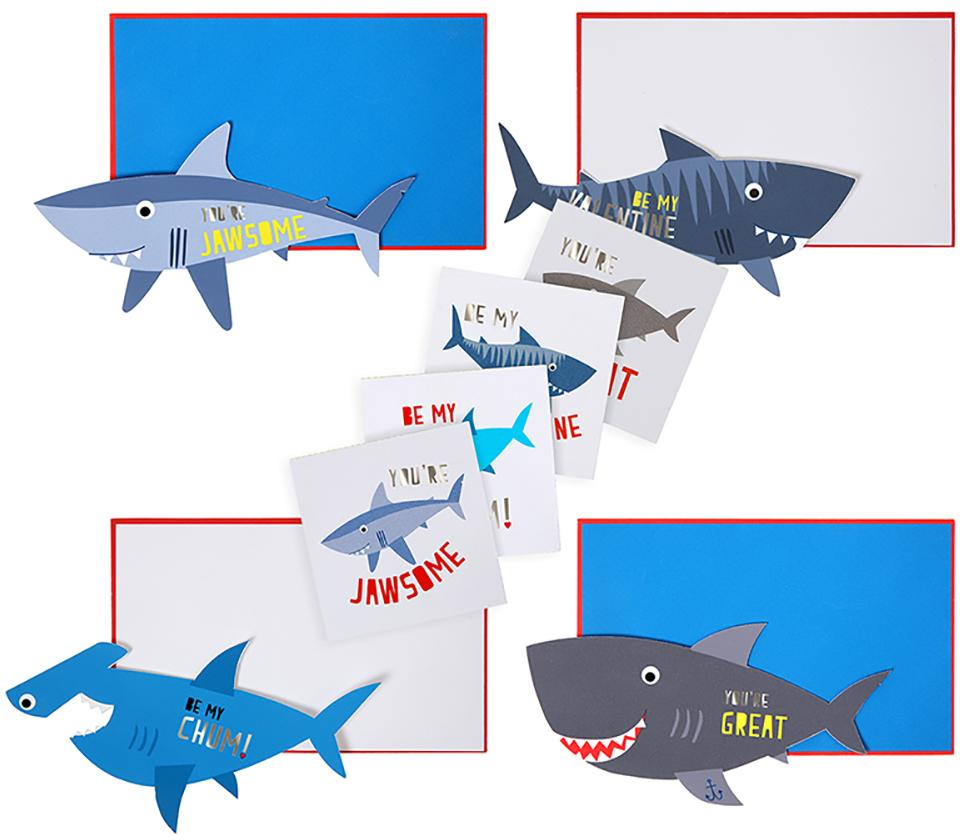 Notecards Shark (24 Set)